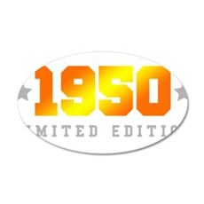 Limited Edition 1950 Birthday Wall Sticker