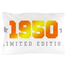 Limited Edition 1950 Birthday Pillow Case