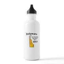 Delaware is better then you Water Bottle