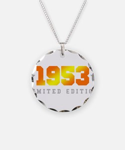 Limited Edition 1953 Birthday Necklace