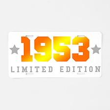 Limited Edition 1953 Birthday Aluminum License Pla