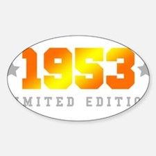 Limited Edition 1953 Birthday Decal