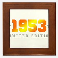 Limited Edition 1953 Birthday Framed Tile