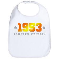 Limited Edition 1953 Birthday Bib