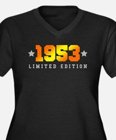 Limited Edition 1953 Birthday Plus Size T-Shirt