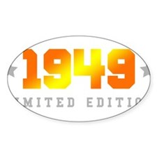 Limited Edition 1949 Birthday Decal