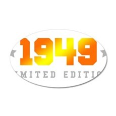 Limited Edition 1949 Birthday Wall Sticker