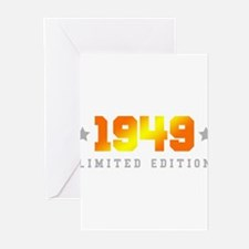 Limited Edition 1949 Birthday Greeting Cards