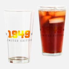 Limited Edition 1949 Birthday Drinking Glass