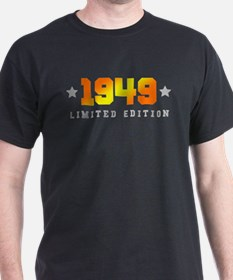 Limited Edition 1949 Birthday T-Shirt
