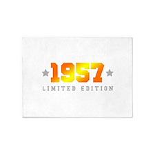 Limited Edition 1957 Birthday 5'x7'Area Rug