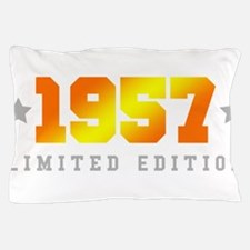 Limited Edition 1957 Birthday Pillow Case