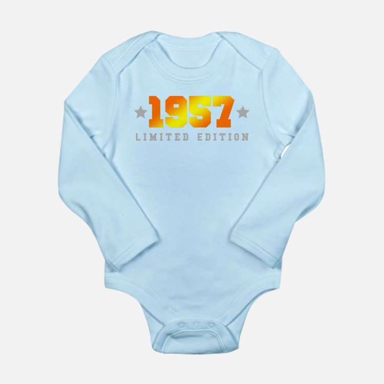 Limited Edition 1957 Birthday Body Suit