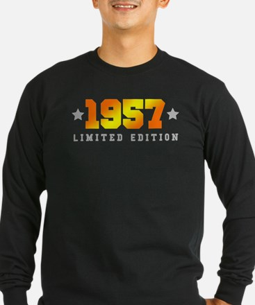 Limited Edition 1957 Birthday Long Sleeve T-Shirt