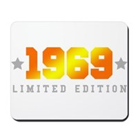 Limited Edition 1969 Birthday Mousepad