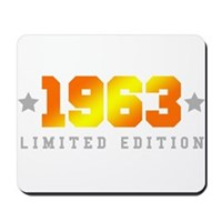 Limited Edition 1963 Birthday Mousepad