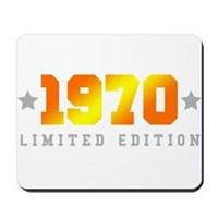 Limited Edition 1970 Birthday Mousepad