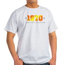 Limited Edition 1970 Birthday T-Shirt