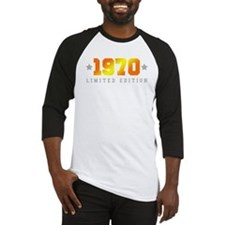 Limited Edition 1970 Birthday Baseball Jersey