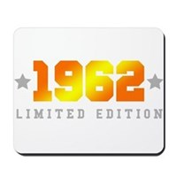Limited Edition 1962 Birthday Mousepad