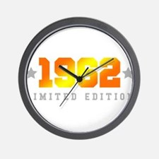 Limited Edition 1962 Birthday Wall Clock