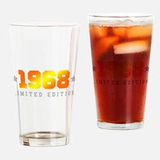 Limited Edition 1968 Birthday Drinking Glass