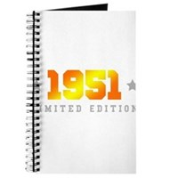 Limited Edition 1951 Birthday Journal