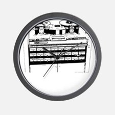 "24 Track 2"" Tape Machine Wall Clock"