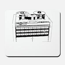 "24 Track 2"" Tape Machine Mousepad"