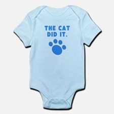 The Cat Did It Body Suit