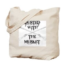 Dusted with the Musket Tote Bag