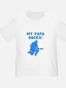 My Papa Rocks T-Shirt