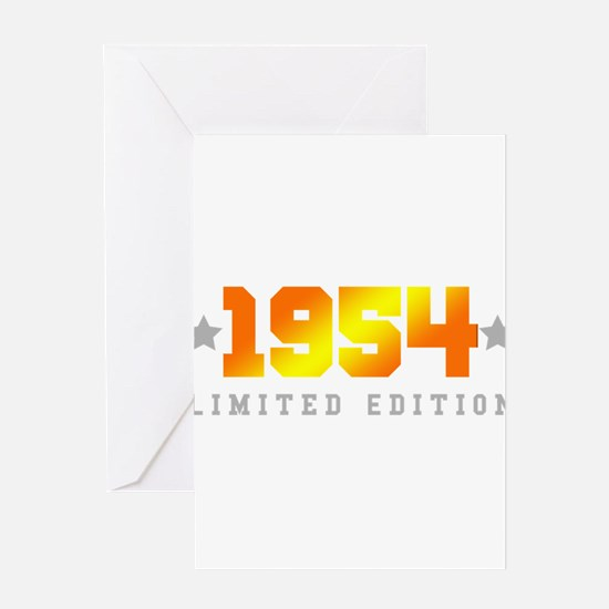 Limited Edition 1954 Birthday Greeting Cards