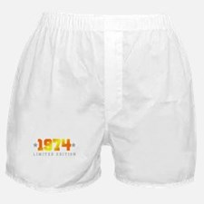 Limited Edition 1974 Birthday Boxer Shorts
