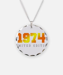 Limited Edition 1974 Birthday Necklace