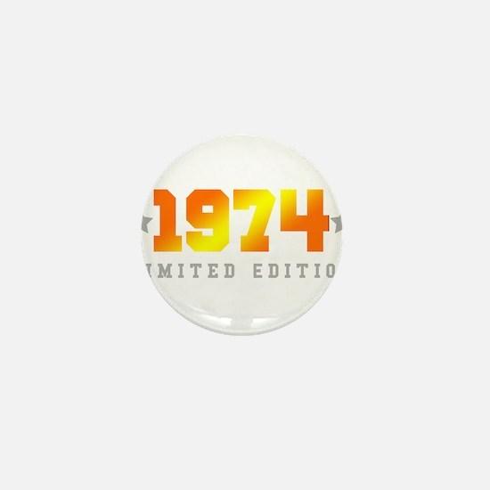 Limited Edition 1974 Birthday Mini Button