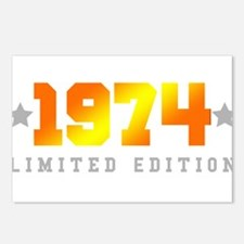 Limited Edition 1974 Birthday Postcards (Package o