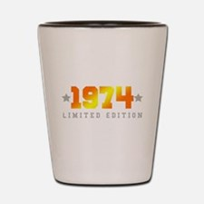 Limited Edition 1974 Birthday Shot Glass