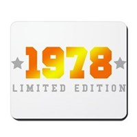Limited Edition 1978 Birthday Mousepad