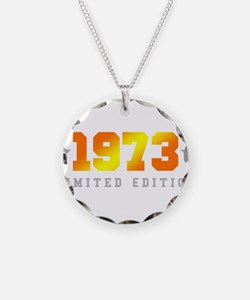 Limited Edition 1973 Birthday Necklace