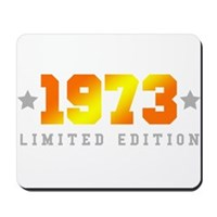 Limited Edition 1973 Birthday Mousepad