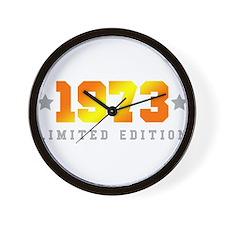 Limited Edition 1973 Birthday Wall Clock