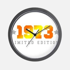 Limited Edition 1973 Birthday Wall Clock