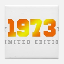 Limited Edition 1973 Birthday Tile Coaster