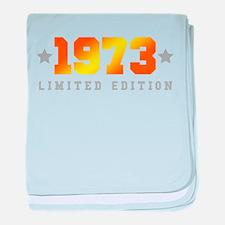 Limited Edition 1973 Birthday baby blanket