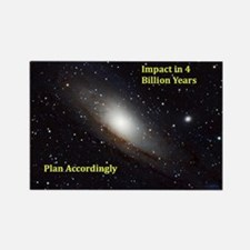 Unique Andromeda Rectangle Magnet