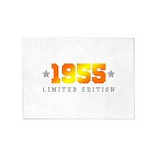 Limited Edition 1955 Birthday 5'x7'Area Rug