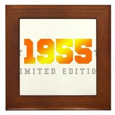Limited Edition 1955 Birthday Framed Tile