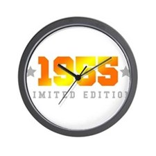Limited Edition 1955 Birthday Wall Clock