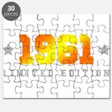 Limited Edition 1961 Birthday Puzzle